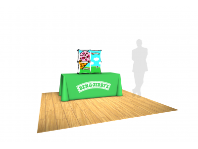 Pop Up Table Top Display | SalesMate 2x2 C