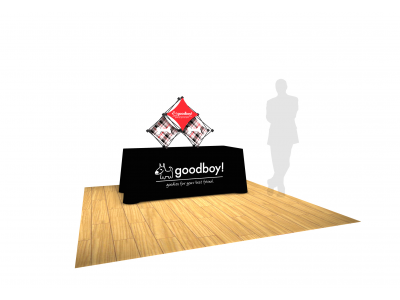 Pop Up Table Top Display | Kit E 3 Quad SalesMate
