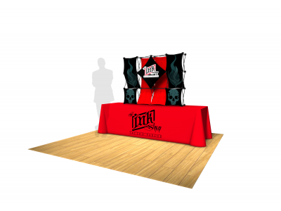 Pop Up Table Top Display | 4x3 Kit C Salesmate