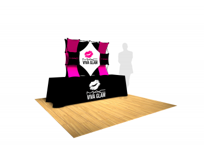 Pop Up Table Top Display | 4x3 Kit A SalesMate
