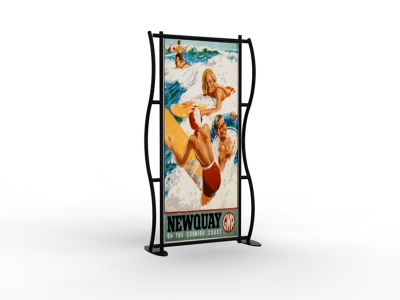 Banner Stands | TF-602 Aero Tension Fabric Banner Stand