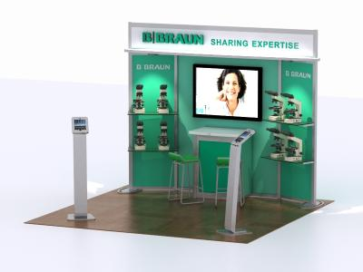 DM-0971 20 Foot Visionary Designs | Trade Show Displays