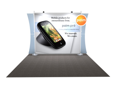 VK-1218 Sacagawea Tension Fabric Displays | Trade Show Displays