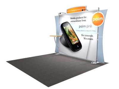VK-1222 Sacagawea Tension Fabric Displays | Trade Show Displays