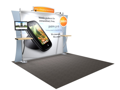 VK-1224 Sacagawea Tension Fabric Displays | Trade Show DIsplays