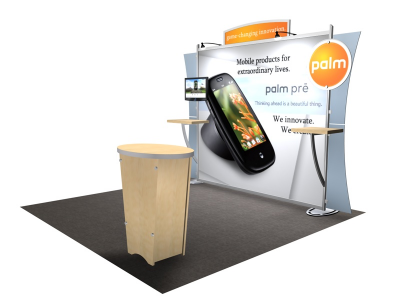 VK-1225 Sacagawea Tension Fabric Displays | Trade Show DIsplays