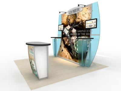 Trade Show Displays | VK-1240 Magellan Magic
