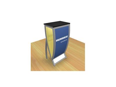 Perfect 10 - VK-1601 Pedestal   Custom Modular Hybrid Displays
