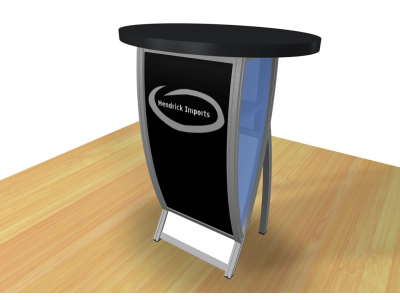 Perfect 10 - VK-1602 Pedestal | Custom Modular Hybrid Displays