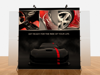 Tension Fabric Displays | VK-1906 Segue Sunrise