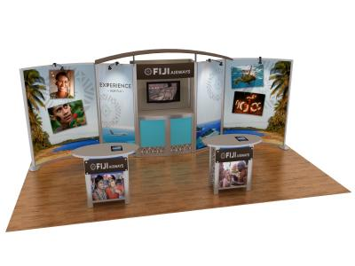 Custom Modular Hybrid Displays | VK-2066 20 Ft Visionary Designs