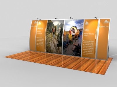 VK-2091 Magellan Miracle | Trade Show Displays