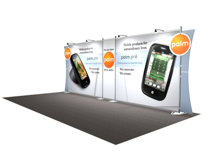VK-2108 Sacagawea Tension Fabric Displays | Trade Show Displays