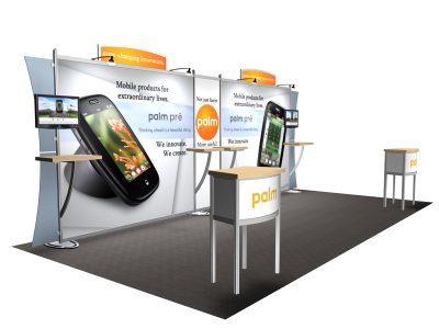 VK-2111 Sacagawea Tension Fabric Displays | Trade Show Displays