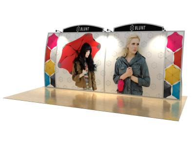VK-2126 20 Ft. Magellan Miracle |  Portable Custom Modular Hybrid Displays