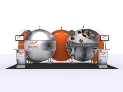 VK-2919 20 Ft Visionary Designs  | Custom Modular Hybrid Displays