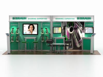 DM-0971 20 Foot Visionary Designs   Trade Show Displays