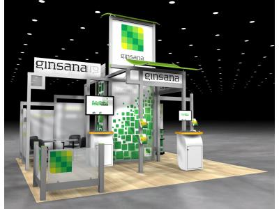 VK-5076 Visionary Island Display | Trade Show Displays