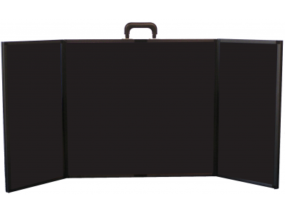 Presentation 24 Plus Briefcase Display without Graphics | Table Top Displays