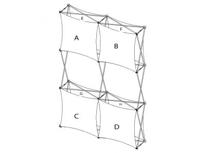 Pop Up Display | XSNAP 2x3F schematic