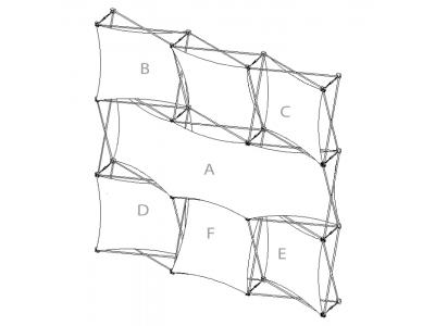 Pop Up Display | XSNAP 3x3B schematic