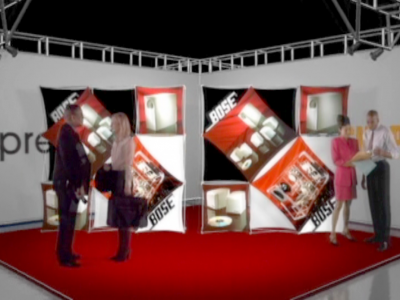 Pop Up DIsplays | Xpressions XSNAP 3x3 Booth