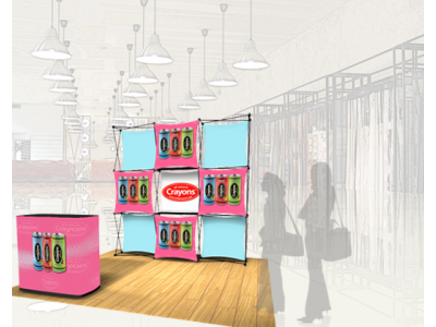 Pop Up Displays | Express Kit B rendering