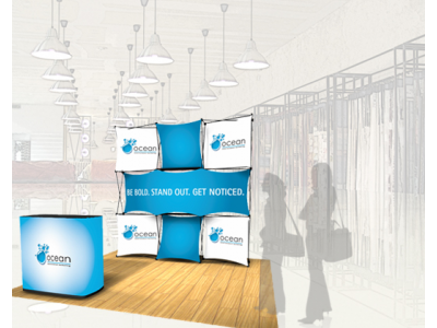 Pop Up Displays | Express Kit D rendering