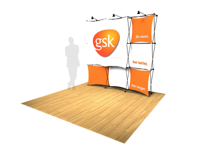 Pop Up Displays | Xpressions 3x3G