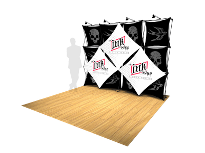 Pop Up Displays | Xpresssions XSNAP 4x3M