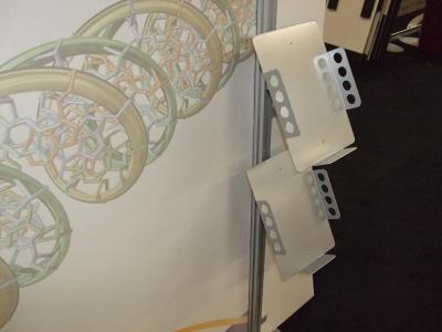 VK-2106 Sacagawea Tension Fabric Displays   Trade Show Displays