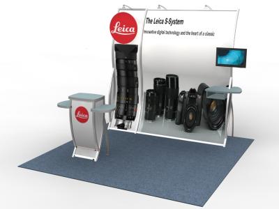 Perfect 10 - VK-1658 Pedestal | Custom Modular Hybrid Displays