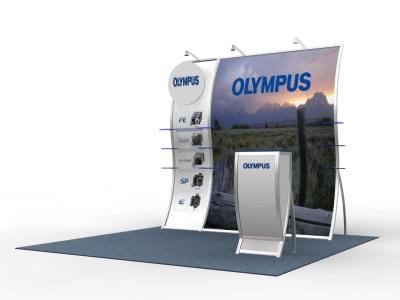 VK-1514 Olga- Perfect 10 Trade Show Displays