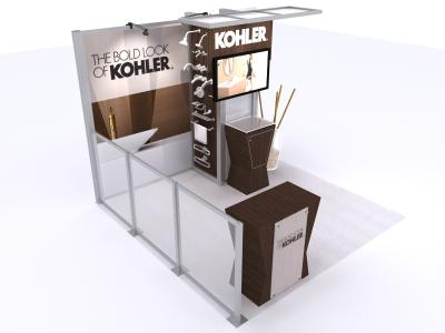 VK-1322 10 Ft Visionary Designs | Custom Modular Hybrid Displays