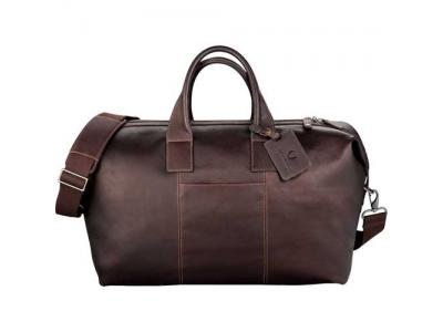 Promotional Giveaway Bags | Kenneth Cole Colombian Leather Weekender Duffel