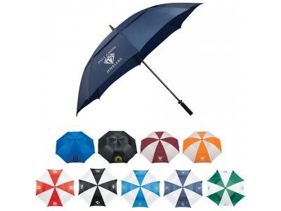 "Promotional Giveaway Gifts & Kits | 62"" Course Vented Golf Umbrella"