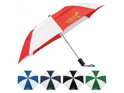 """Promotional Giveaway Gifts & Kits   42"""" Vented Auto Open Windproof Slim Stick"""