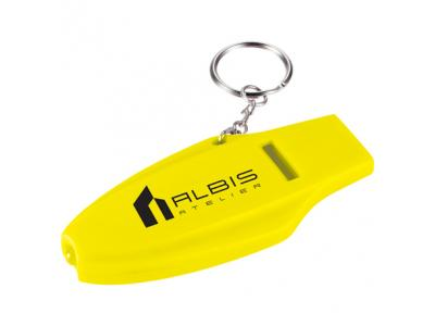 Promotional Giveaway Gifts & Kits | Survivor Whistle Key-Light