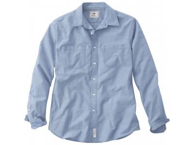 Apparel Wovens | M-Clearwater Roots73 LS Shirt (Poly-Cotton)