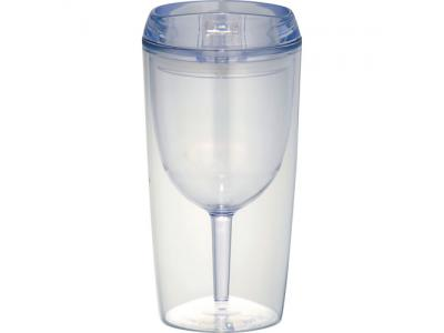 Promotional Giveaway Drinkware   Game Day Wine Glass Cup 10oz