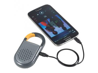 Promotional Giveaway Technology | Mobile Odyssey Eris Wireless Clip Speaker