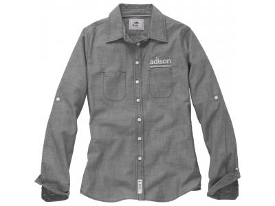 Apparel Wovens | W-Clearwater Roots73 LS Shirt (Poly-Cotton)