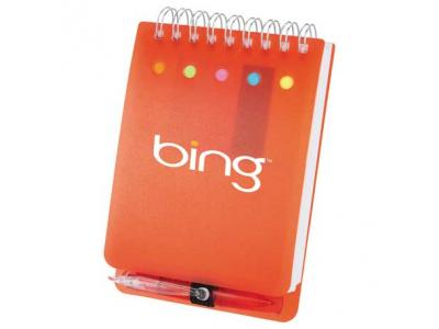 Promotional Giveaway Office | Memo Flag Spiral Jotter