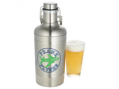 Promotional Giveaway Drinkware | Growl Vacuum Growler 64oz
