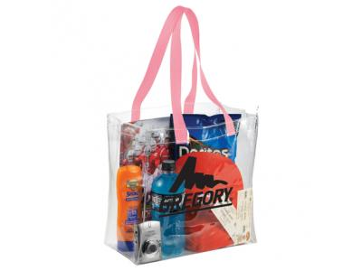 Promotional Giveaway Bags | Rally Clear Stadium Tote
