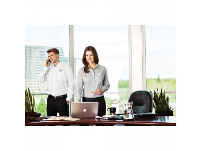 Apparel Wovens   M-Loma Long Sleeve Shirt (Poly Cotton)