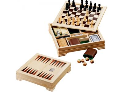 Promotional Giveaway Gifts & Kits   Lifestyle 7-In-1 Desktop Game Set