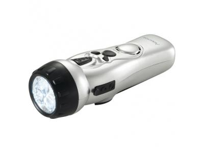 Promotional Giveaway Gifts & Kits | Dynamo Multi-Function Flashlight with USB