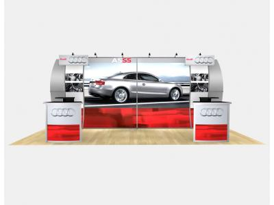 RE-2012 Perfect 20 Audi w/ Graphics | Display Rentals
