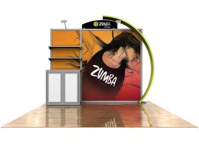 RE-1029 eSmart Zumba w/ Graphics   Display Rentals